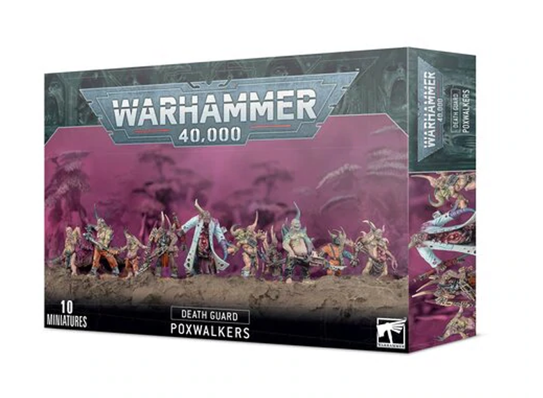 WH 40K: Death Guard - Poxwalkers (9th Ed.)