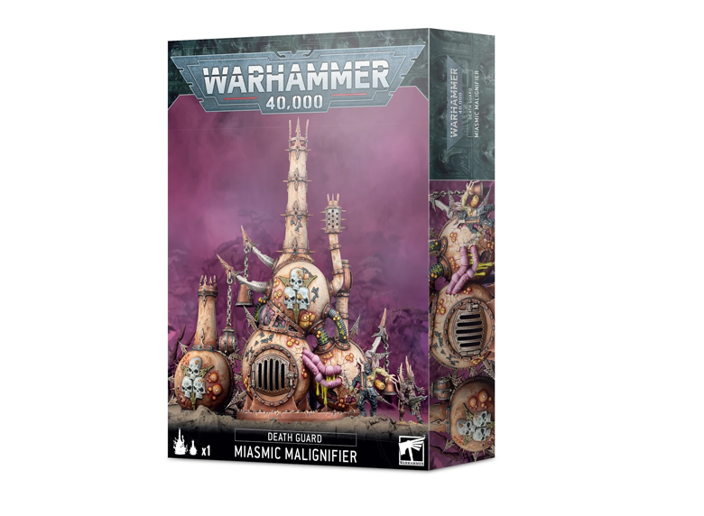 WH 40K: Death Guard - Miasmic Malignifier