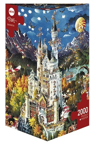 Jigsaw Puzzle: HEYE - Bavaria (2000 Pieces)