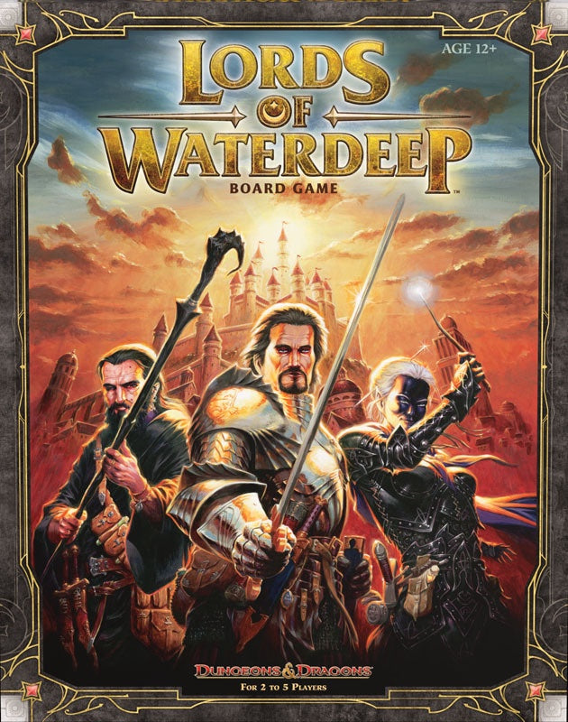 D&D: Lords of Waterdeep (Board Game)