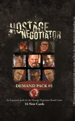 Hostage Negotiator - Demand Pack 1