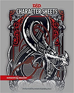 D&D RPG: Character Sheets
