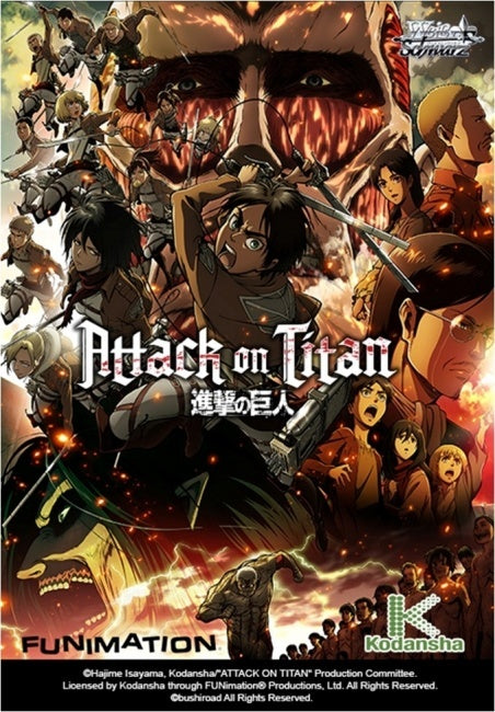 WS TCG: Attack on Titan [Booster Pack]