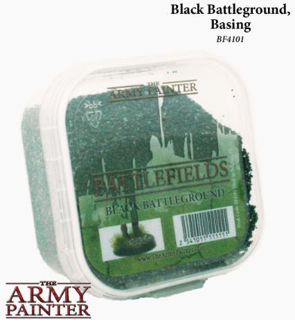 The Army Painter: Supplies - Essential - Black Battleground Basing