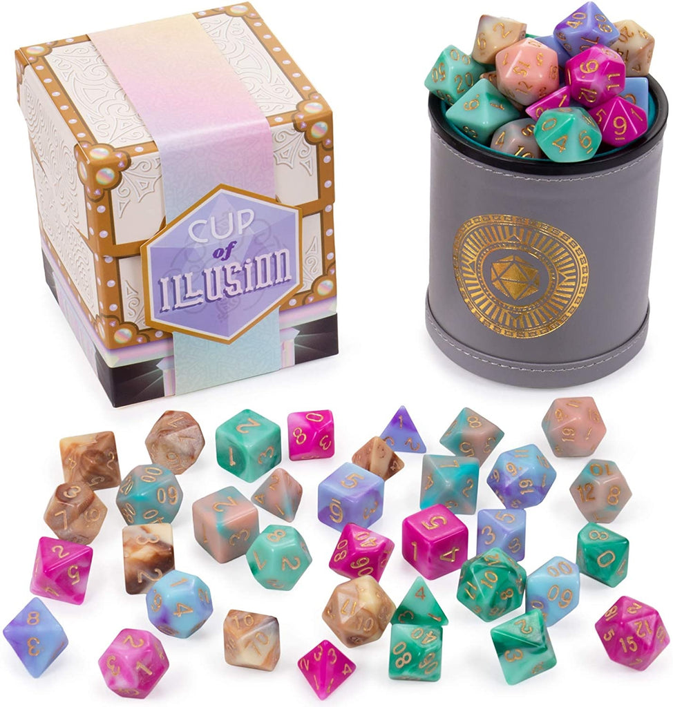 Dice: Wiz Dice - Cup of Illusion - Poly Set (x35)