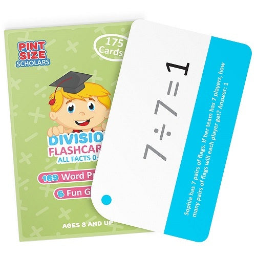 Flashcards: Division