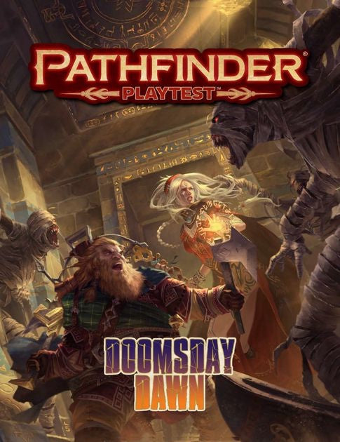 Pathfinder (2nd. Ed.) RPG: Playtest - Doomsday Dawn