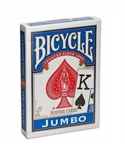 Playing Cards: Bicycle - Jumbo Index, Blue