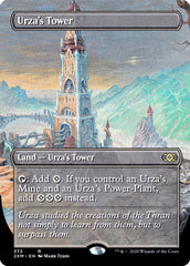 Urza's Tower (Borderless) [Double Masters]