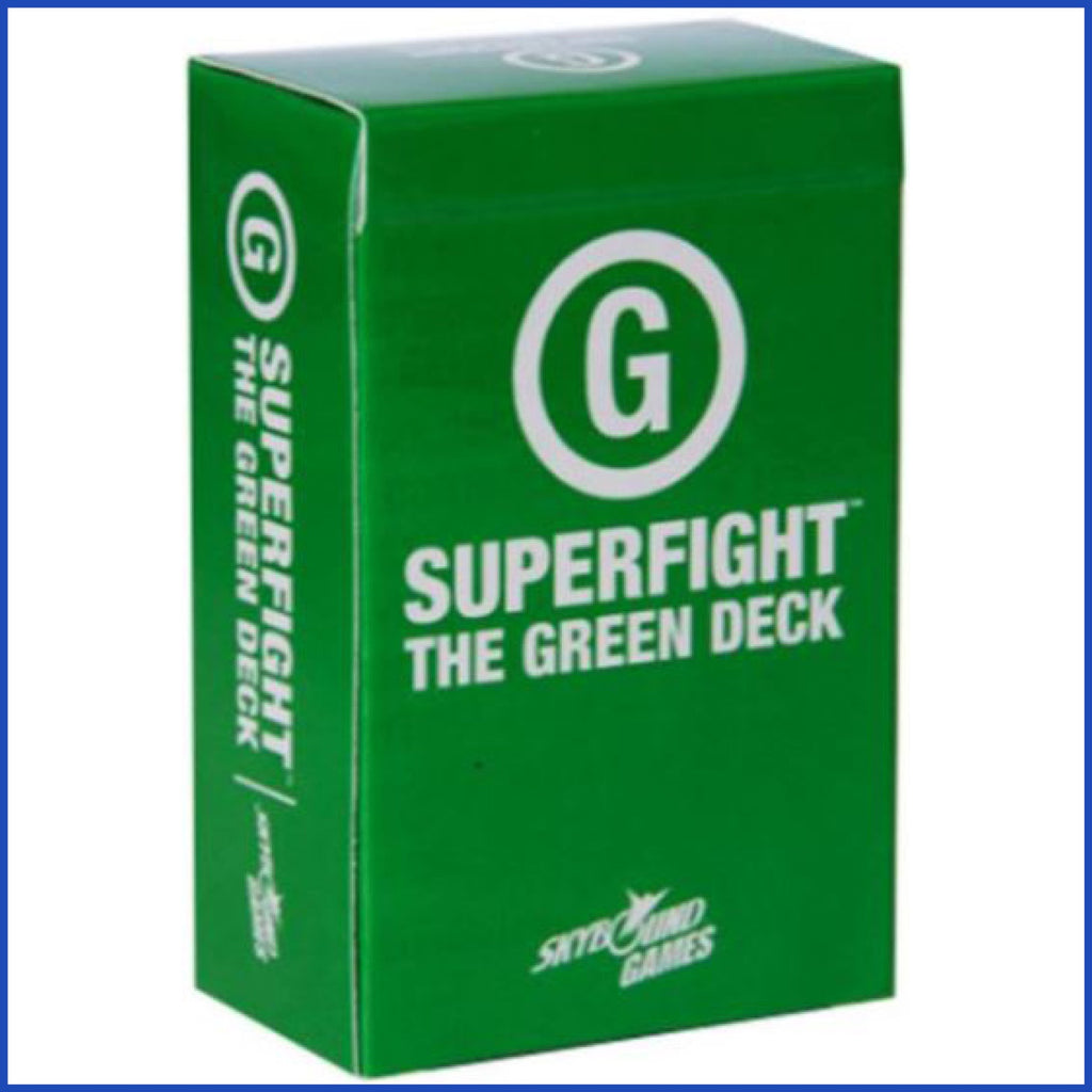 SUPERFIGHT - The Green Deck (إضافة لعبة)