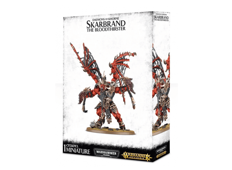 WH AoS: Daemons of Khorne - Skarbrand, The Bloodthirster