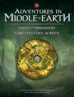 LOTR RPG: Adventures in Middle Earth - Eaves of Mirkwood Loremaster's Screen