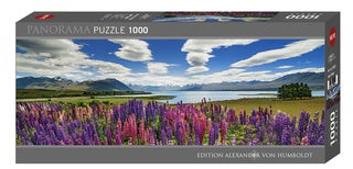 Jigsaw Puzzle: HEYE - AvH - Lake Tekapo (1000 Pieces)