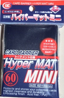 Sleeves: KMC - Hyper Matte - Small, Blue (x60)