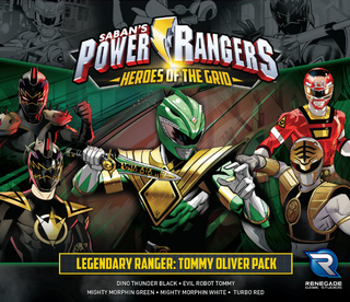 Power Rangers: Heroes of the Grid - Legendary Ranger - Tommy Oliver Pack