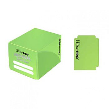 Deck Box: Ultra PRO - Pro Dual Small, Light Green (لوازم لعبة لوحية)