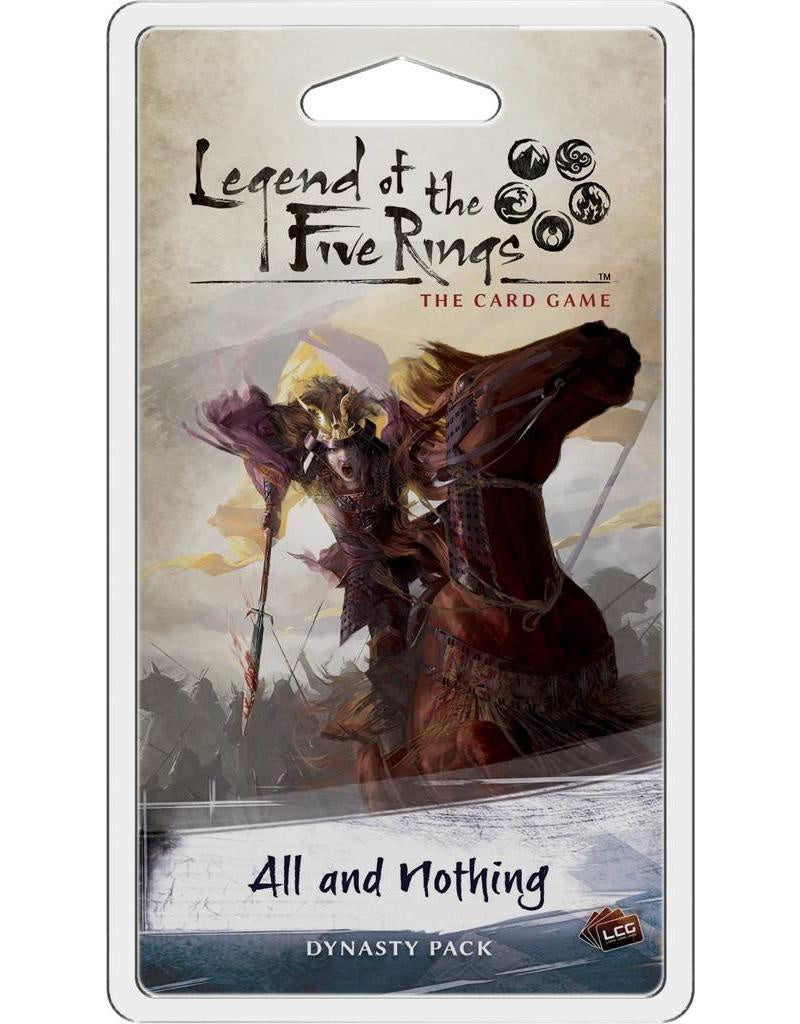 L5R LCG - All and Nothing