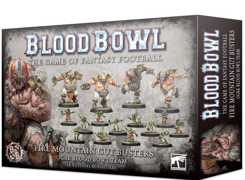 Blood Bowl - Fire Mountain Gut Busters Team