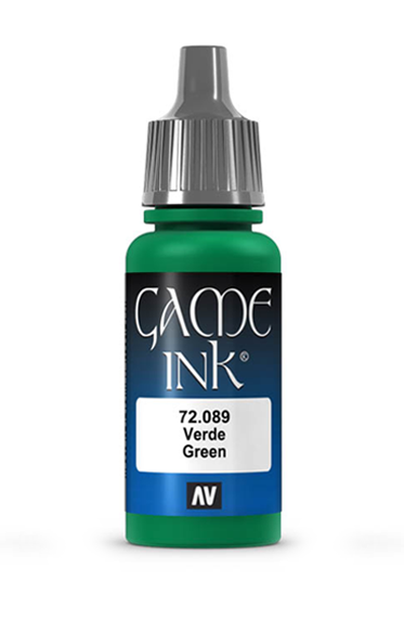 Vallejo Paints: Game Color - Green Ink (17ml)