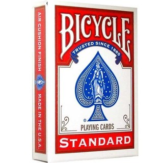 Playing Cards: Bicycle - Standard Index, Red (ورق لعب)