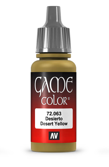 Vallejo Paints: Game Color - Desert Yellow (17ml)