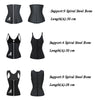 NEW Women Corset Latex Waist Trainer