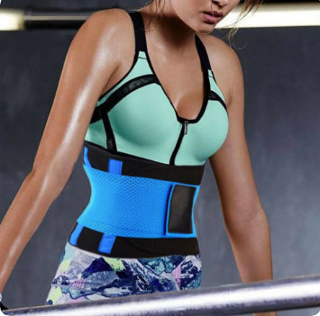 606b003f57 SLIMFIT WAIST SHAPER- Instant Slimming and Back Support - Fyther