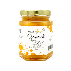 Michigan Creamed Honey 8oz Jar - 6pk