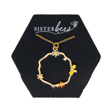 Load image into Gallery viewer, Honey Bee & Daisy Necklace