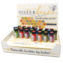 Load image into Gallery viewer, Queen Bee Set (48 lip balms  & 64  Bee Tins *8 Towers of 8 each)