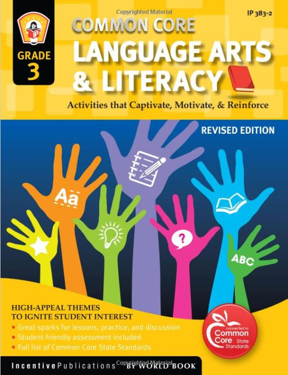 Common Core Language Arts & Literacy Grade 3
