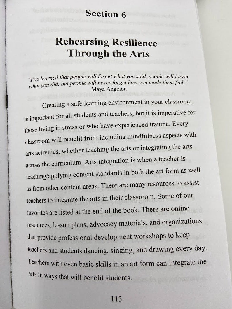 Teachers' Guide to Resiliency Through the Arts