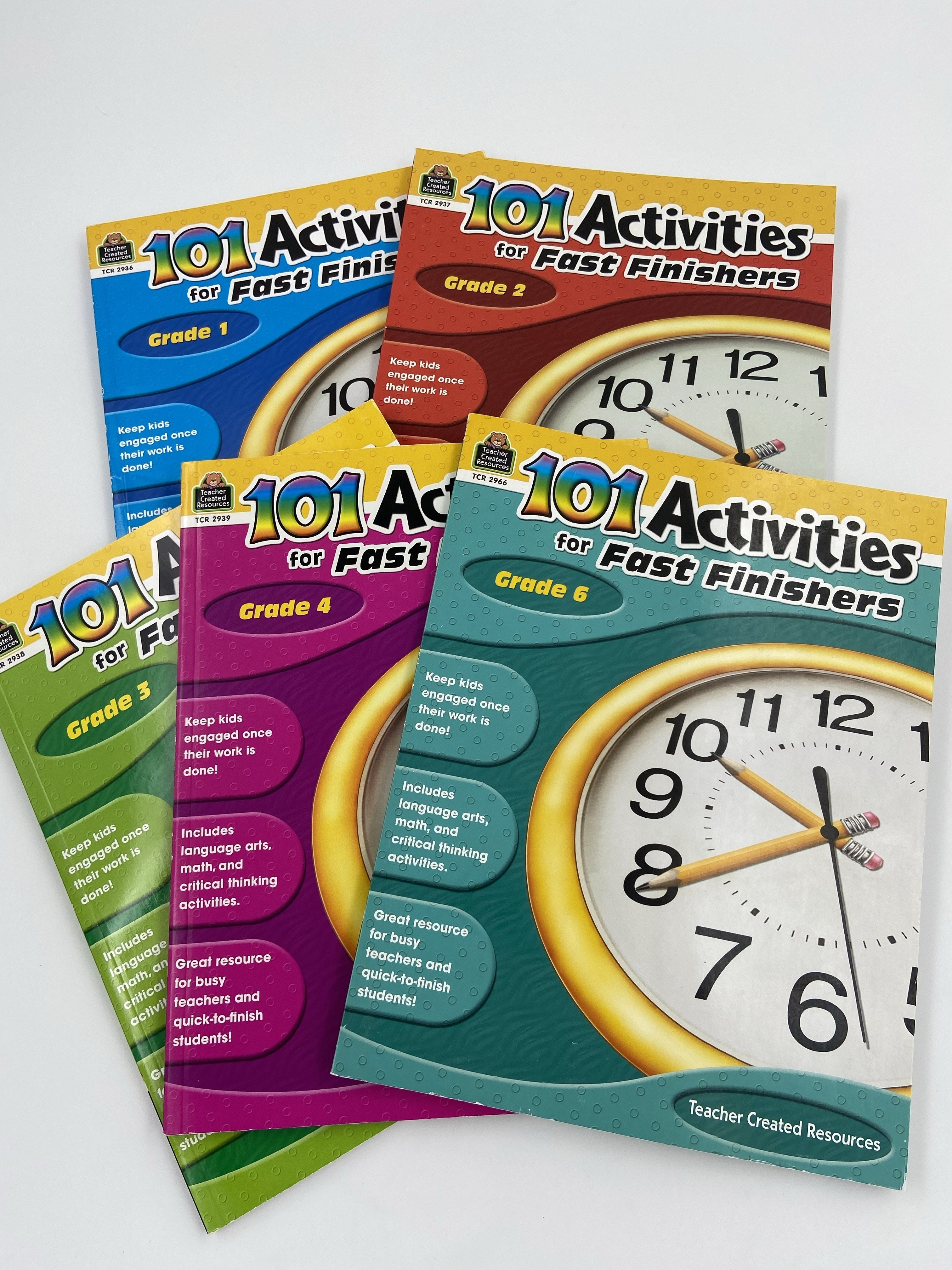 101 Activities For Fast Finishers