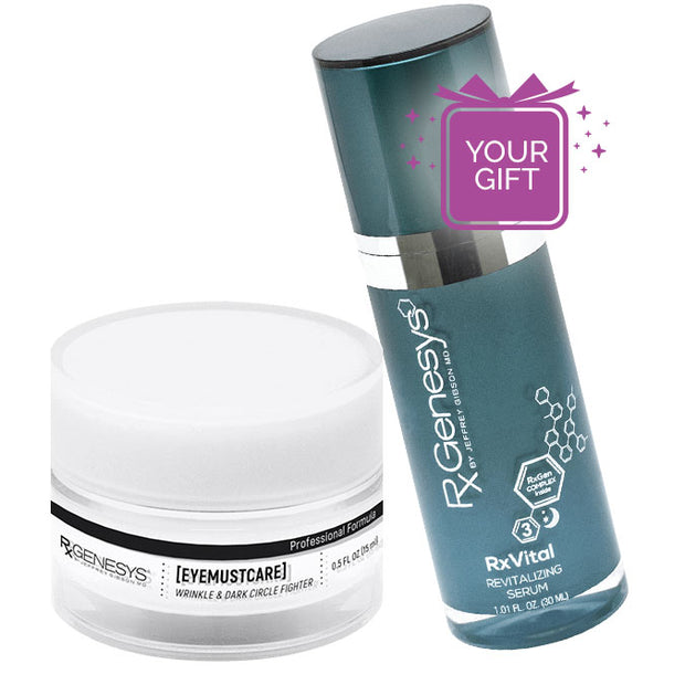 EyeMustCare™ + Free RxVital™ Overnight Revitalizing Serum