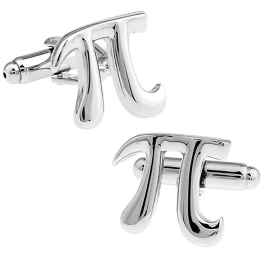 Pi 3.14 Maths Symbol Cufflinks