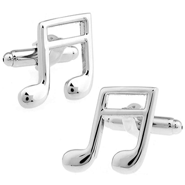 Quaver Musical Note Cufflinks