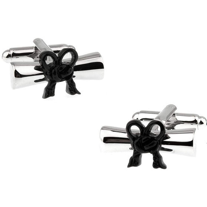 Graduation Diploma or Scroll Cufflinks