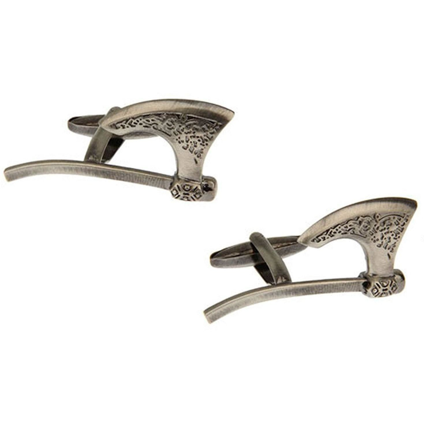 Bronze Viking Battle Axe Cufflinks