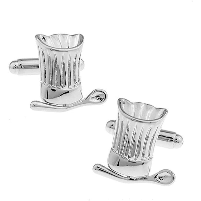 Chef's Hat and Ladle Cufflinks
