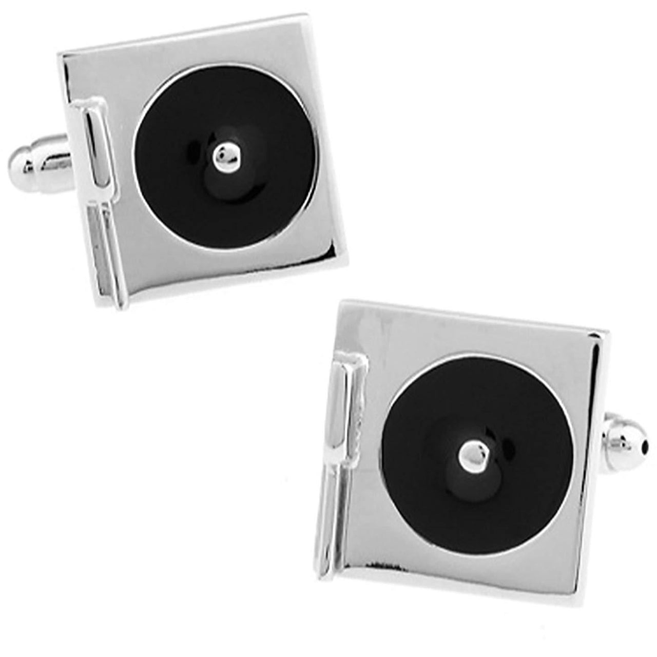Turntable or Record Player Cufflinks