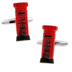 Traditional Iconic Red Postbox Cufflinks