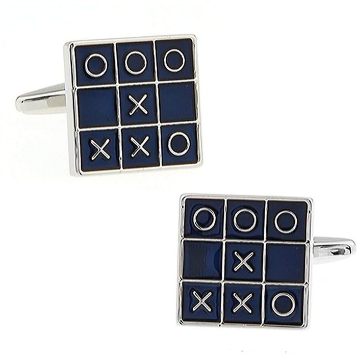 O's and Crosses Cufflinks
