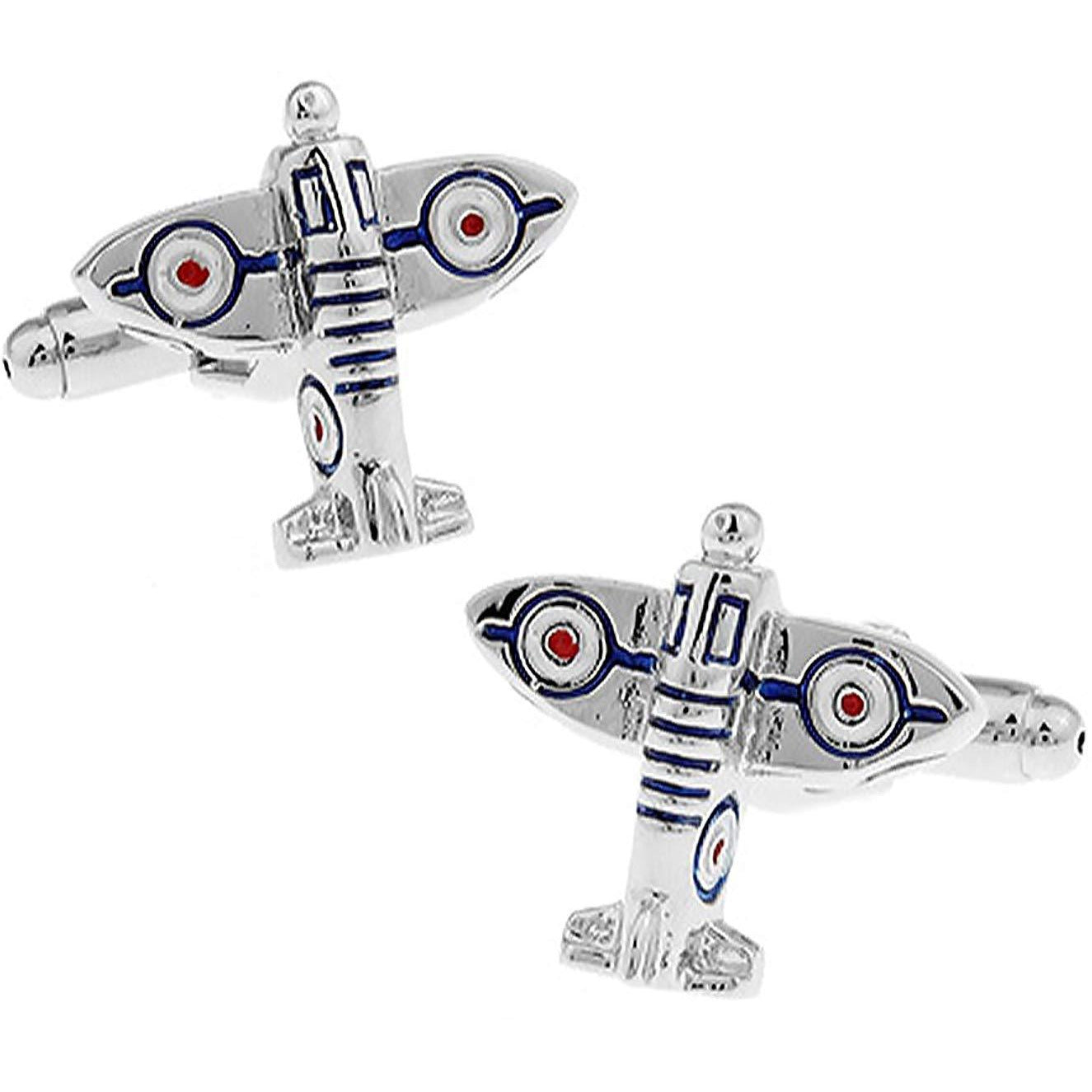 Spitfire Fighter Aeroplane Cufflinks