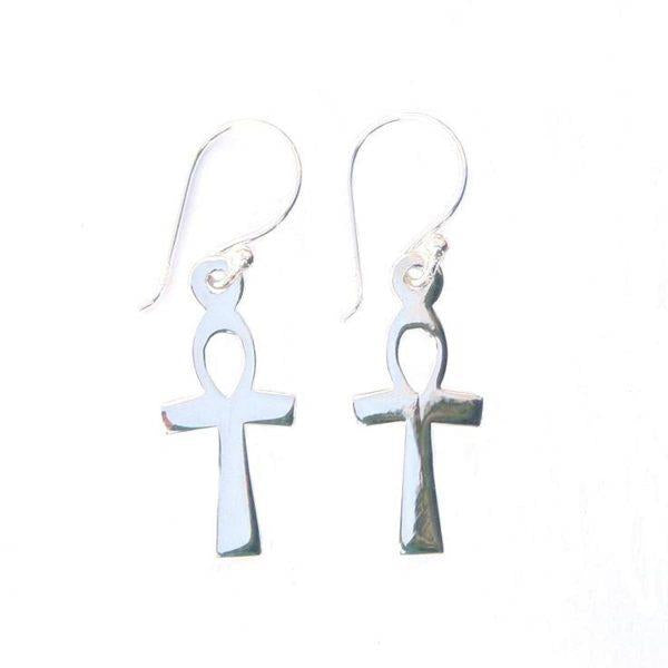 Large Ankh Earrings