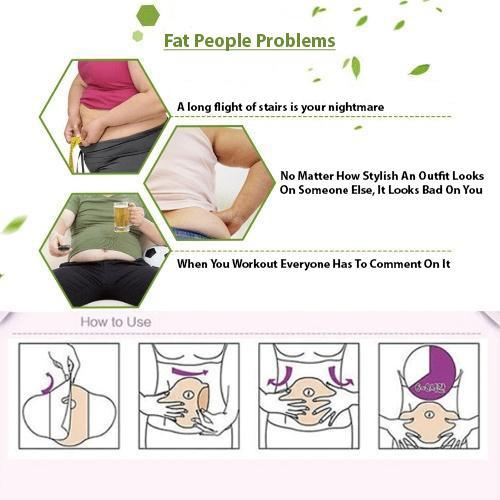 Belly Slimming Patch Set(Buy 3 Get 1 Free)