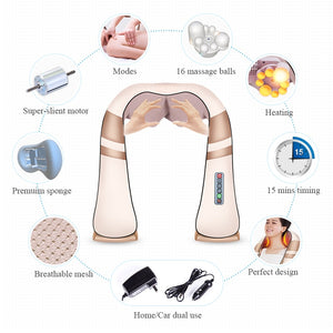 SHIATSU MIGRAINE & DEEP TISSUE MASSAGER (HUGE SALE 60% OFF - 24 HOURS ONLY!)