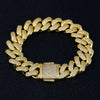 Cuban Bracelet Gold Iced