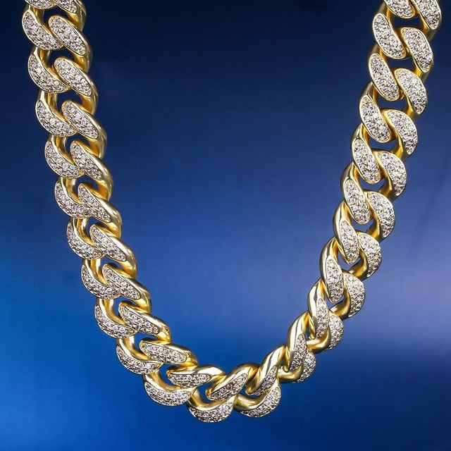 Gold Fashion Hip Hop Cuban Link