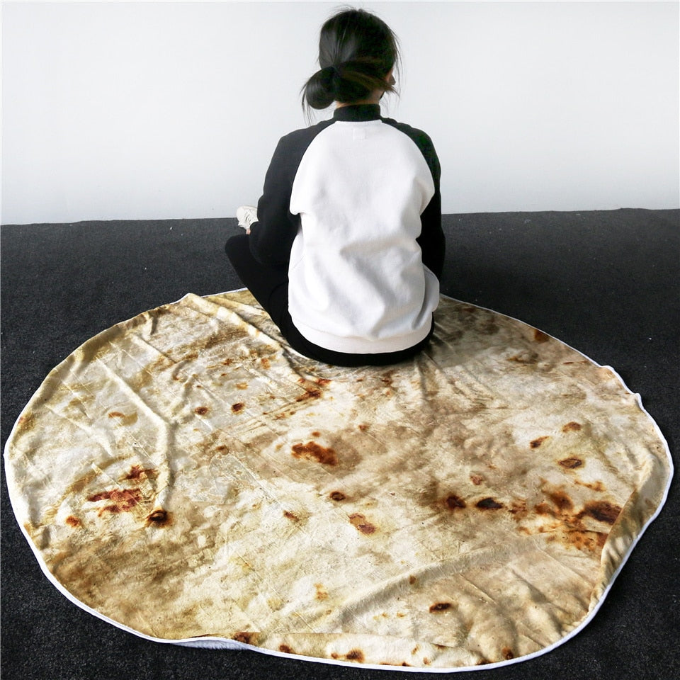 The 3D Burrito Blanket