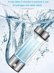 Portable Hydrogen Generator Water Bottle